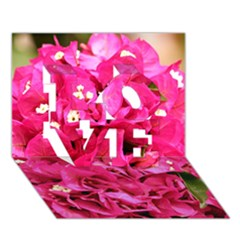 Bougainvillea Love 3d Greeting Card (7x5)