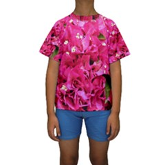 Bougainvillea Kid s Short Sleeve Swimwear