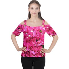 BOUGAINVILLEA Women s Cutout Shoulder Tee