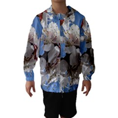 Apricot Blossoms Hooded Wind Breaker (kids)