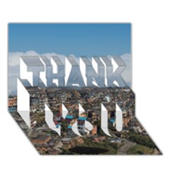 YUANYANG COUNTY THANK YOU 3D Greeting Card (7x5)