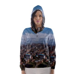 Yuanyang County Hooded Wind Breaker (women)