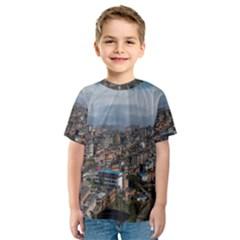 YUANYANG COUNTY Kid s Sport Mesh Tees