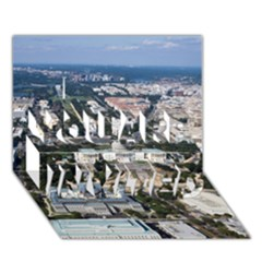 WASHINGTON DC YOU ARE INVITED 3D Greeting Card (7x5)