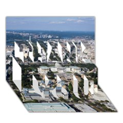 WASHINGTON DC THANK YOU 3D Greeting Card (7x5)