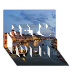 VENICE CANAL Get Well 3D Greeting Card (7x5)