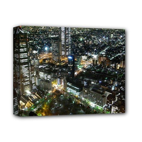 TOKYO NIGHT Deluxe Canvas 14  x 11
