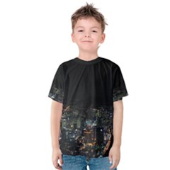 SEOUL NIGHT LIGHTS Kid s Cotton Tee