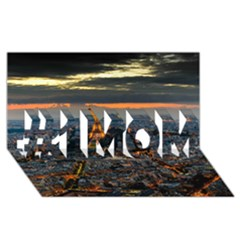 PARIS FROM ABOVE #1 MOM 3D Greeting Cards (8x4)
