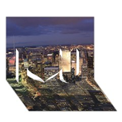 NEW YORK 1 I Love You 3D Greeting Card (7x5)