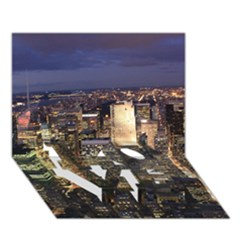 NEW YORK 1 LOVE Bottom 3D Greeting Card (7x5)