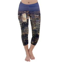 NEW YORK 1 Capri Winter Leggings