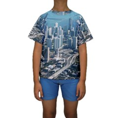 MIAMI Kid s Short Sleeve Swimwear