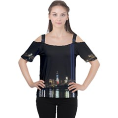 MANHATTAN 1 Women s Cutout Shoulder Tee