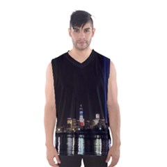 MANHATTAN 1 Men s Basketball Tank Top