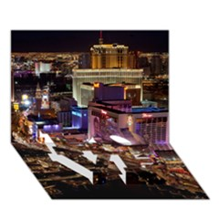 LAS VEGAS 2 LOVE Bottom 3D Greeting Card (7x5)