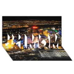 LAS VEGAS 1 #1 MOM 3D Greeting Cards (8x4)