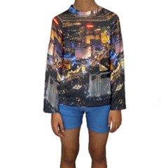 Las Vegas 1 Kid s Long Sleeve Swimwear