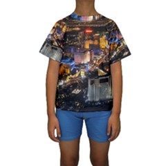 LAS VEGAS 1 Kid s Short Sleeve Swimwear