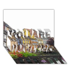 COLMAR FRANCE YOU ARE INVITED 3D Greeting Card (7x5)