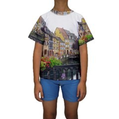 Colmar France Kid s Short Sleeve Swimwear