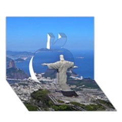 CHRIST ON CORCOVADO Apple 3D Greeting Card (7x5)