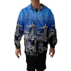 Christ On Corcovado Hooded Wind Breaker (kids)