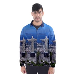 CHRIST ON CORCOVADO Wind Breaker (Men)