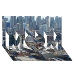 Chicago Mom 3d Greeting Card (8x4)