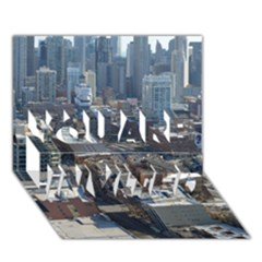 CHICAGO YOU ARE INVITED 3D Greeting Card (7x5)