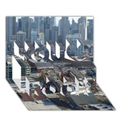 CHICAGO You Rock 3D Greeting Card (7x5)