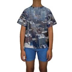 CHICAGO Kid s Short Sleeve Swimwear