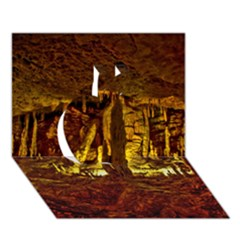 VOLCANO CAVE Apple 3D Greeting Card (7x5)