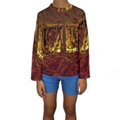 VOLCANO CAVE Kid s Long Sleeve Swimwear