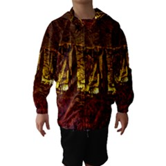 VOLCANO CAVE Hooded Wind Breaker (Kids)