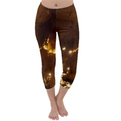 SKOCJAN CAVES Capri Winter Leggings