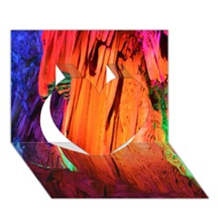 REED FLUTE CAVES 4 Heart 3D Greeting Card (7x5)