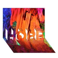 REED FLUTE CAVES 4 HOPE 3D Greeting Card (7x5)