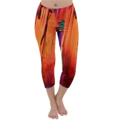 REED FLUTE CAVES 4 Capri Winter Leggings