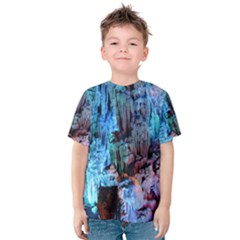 REED FLUTE CAVES 3 Kid s Cotton Tee