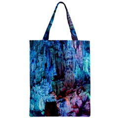 Reed Flute Caves 3 Zipper Classic Tote Bags