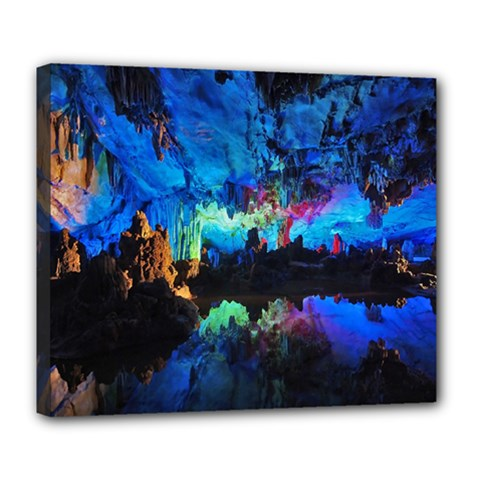 Reed Flute Caves 2 Deluxe Canvas 24  X 20
