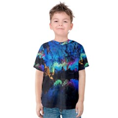 REED FLUTE CAVES 2 Kid s Cotton Tee
