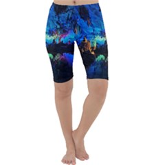 Reed Flute Caves 2 Cropped Leggings