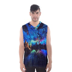 REED FLUTE CAVES 2 Men s Basketball Tank Top