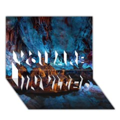 Reed Flute Caves 1 You Are Invited 3d Greeting Card (7x5)