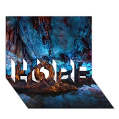 REED FLUTE CAVES 1 HOPE 3D Greeting Card (7x5)