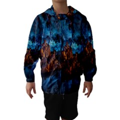REED FLUTE CAVES 1 Hooded Wind Breaker (Kids)