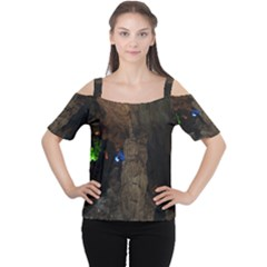 Phong Nha Ke Bang 1 Women s Cutout Shoulder Tee