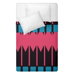 Rhombus And Stripes Pattern  Duvet Cover (single Size)